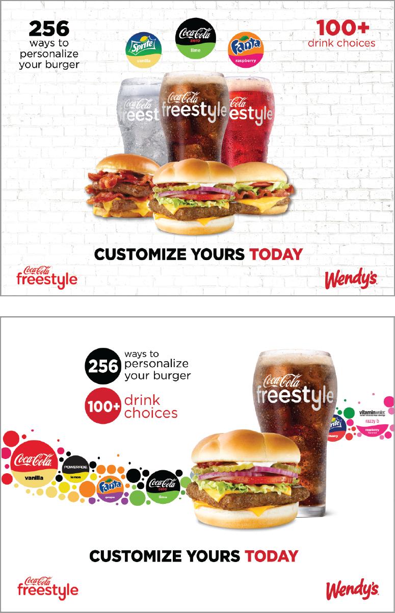 Client: Coca-Cola / Wendy's