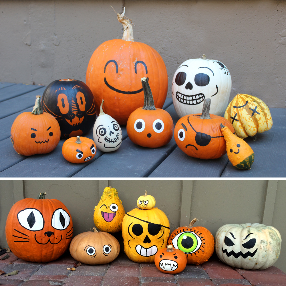 Personal Work: Halloween Punkins!
