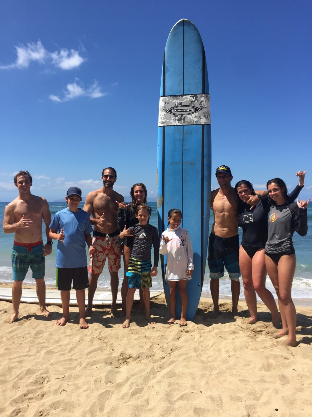 Maui Private Group Surf Lessons