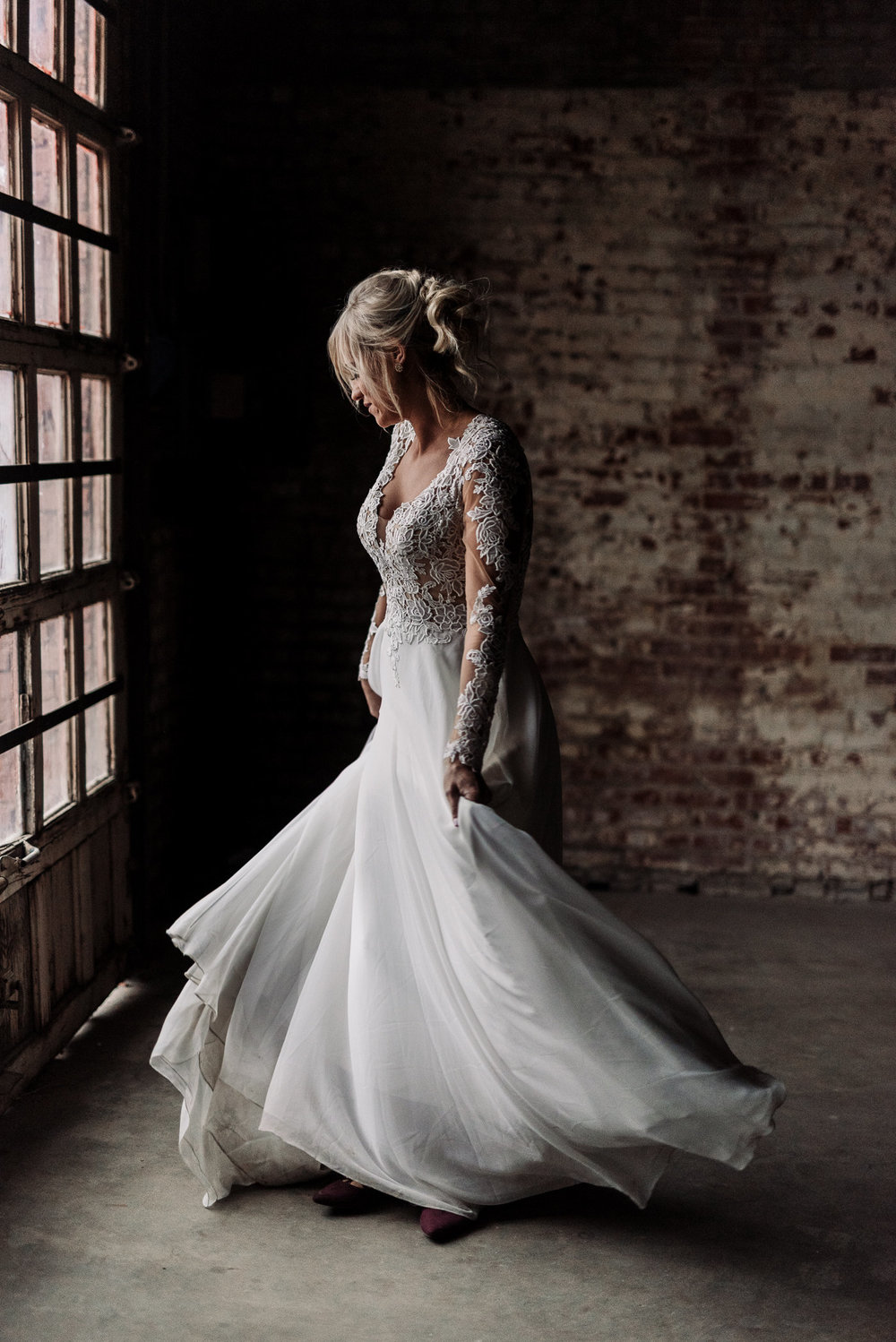 Prescott Bridal | Oklahoma City Wedding Dresses and Gowns - Winter Wedding Styled Shoot