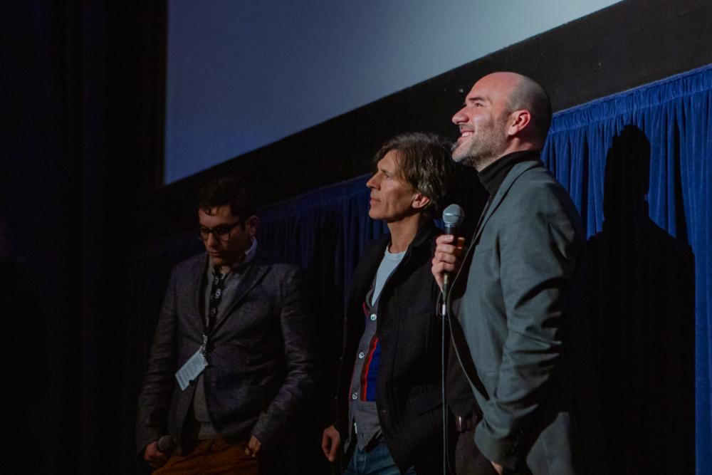 Writer-Director Pascui Rivas at the Santa Barbara International Film Festival Q&A. (Photo by @ClovisIV)