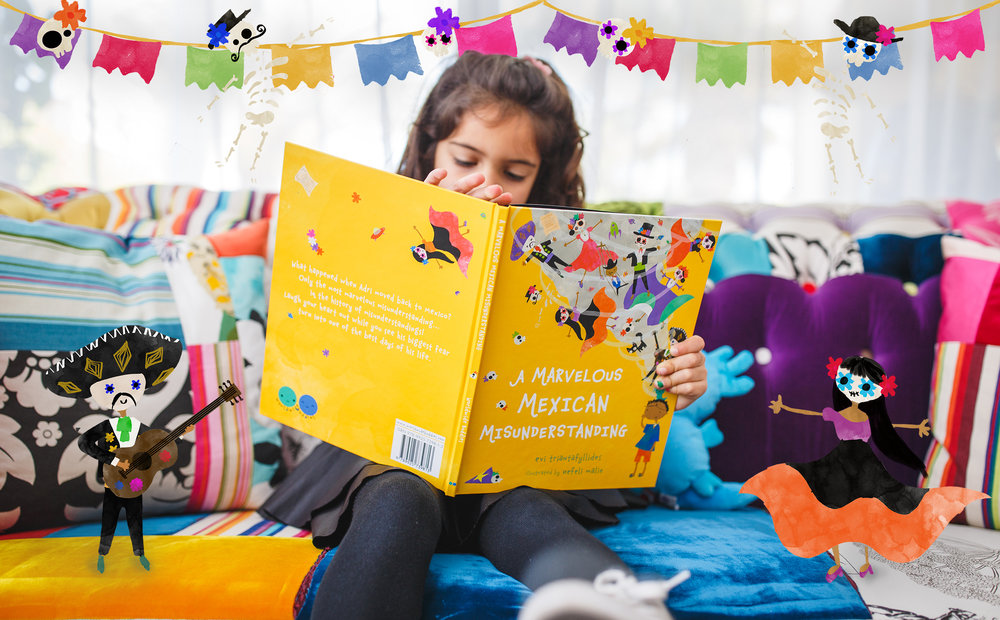 The perfect Day of the Dead read - Discover the Day of the Dead and Mexico's marvelous wonders, while following young Adri as he uncovers the biggest misunderstanding... in the history of misunderstandings!