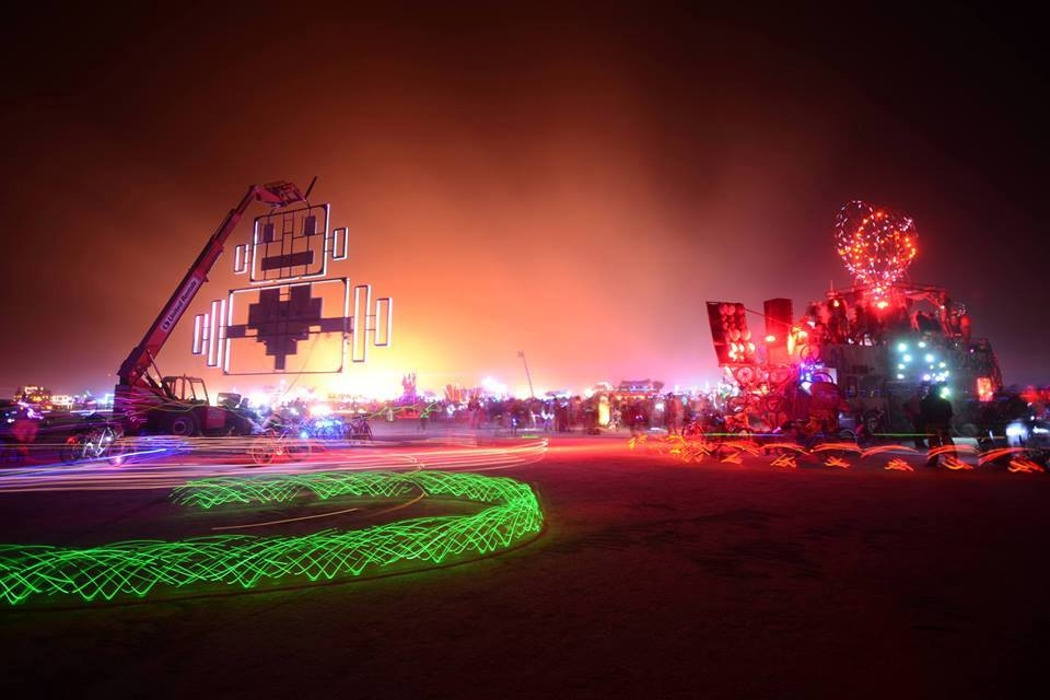 ROBOT HEART - BURNING MAN
