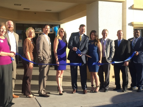 Amerigroup Nevada, Henderson Chamber and WELL CARE Services officials celebrate new facility in Las Vegas that offers behavior and physical healthcare services exclusively for Amerigroup members in Clark County. (Photo: Business Wire)