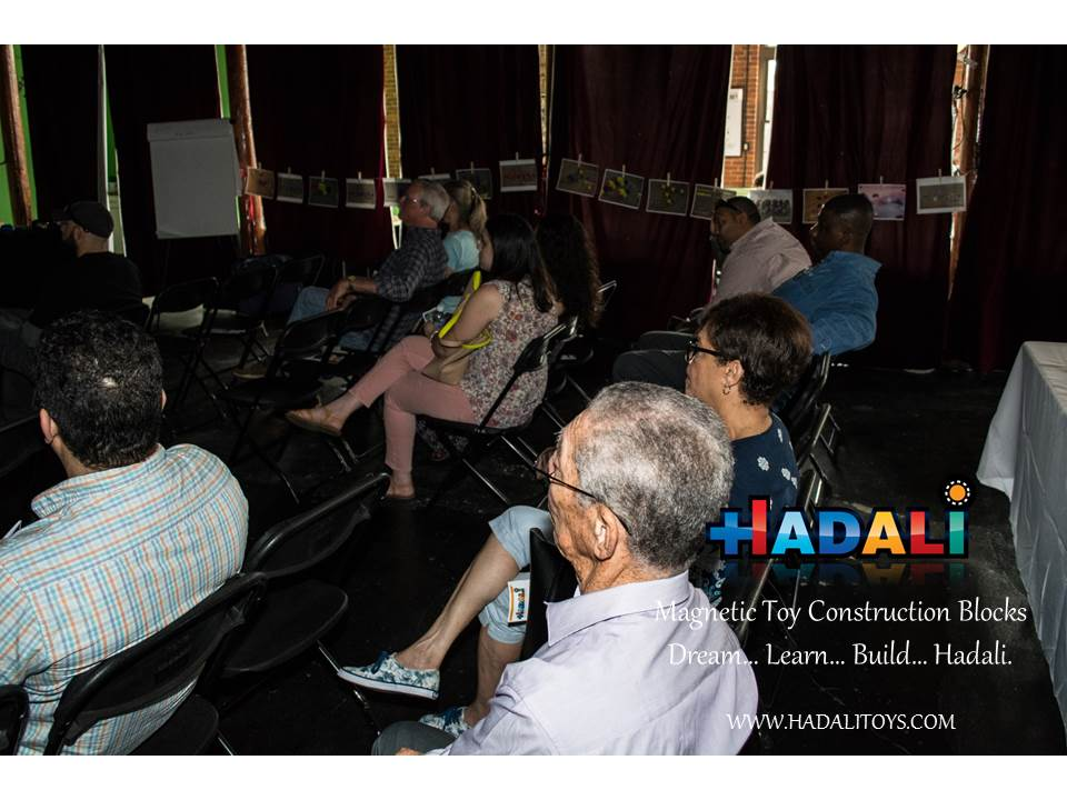 Hadali Toys - Audience listens to the presentation.