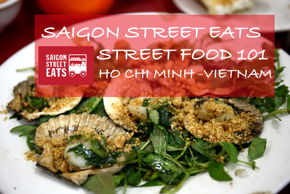 Street food 101 tour in Ho Chi Minh!