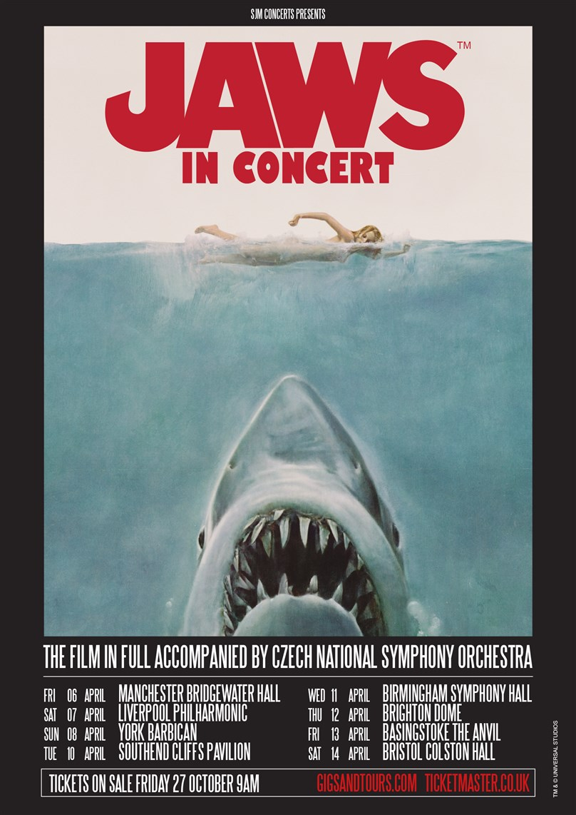 Jaws In Concert: Orchestral Manoeuvres In The Shark — The