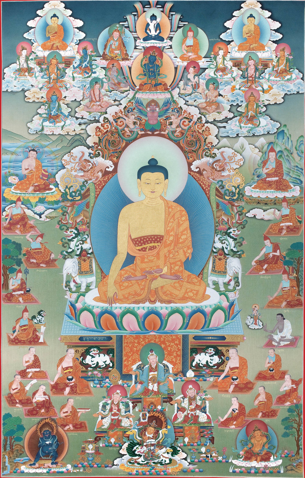 Lineage of the General Teachings of Buddha Shakyamuni
