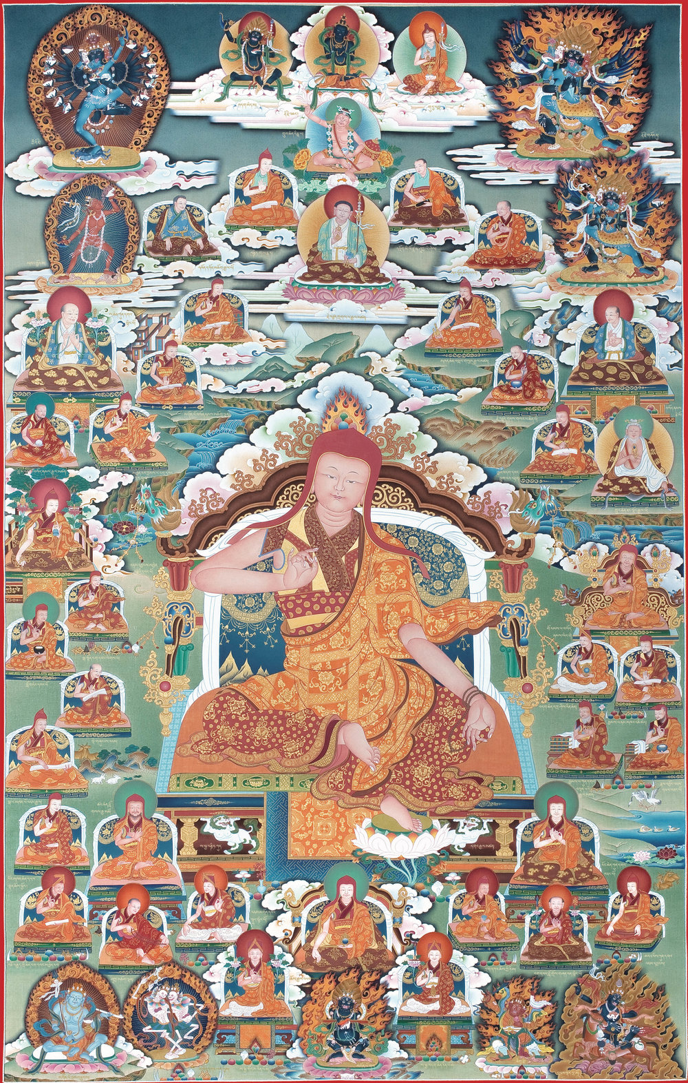 Lineage masters of the Sakya school of Tibetan Buddhism