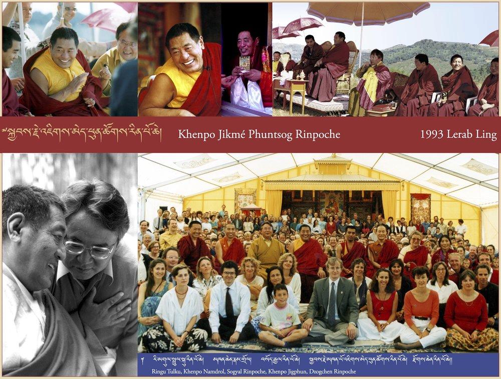 Khenpo Jikmé Phuntsog Rinpoche, 1993 Lerab Ling