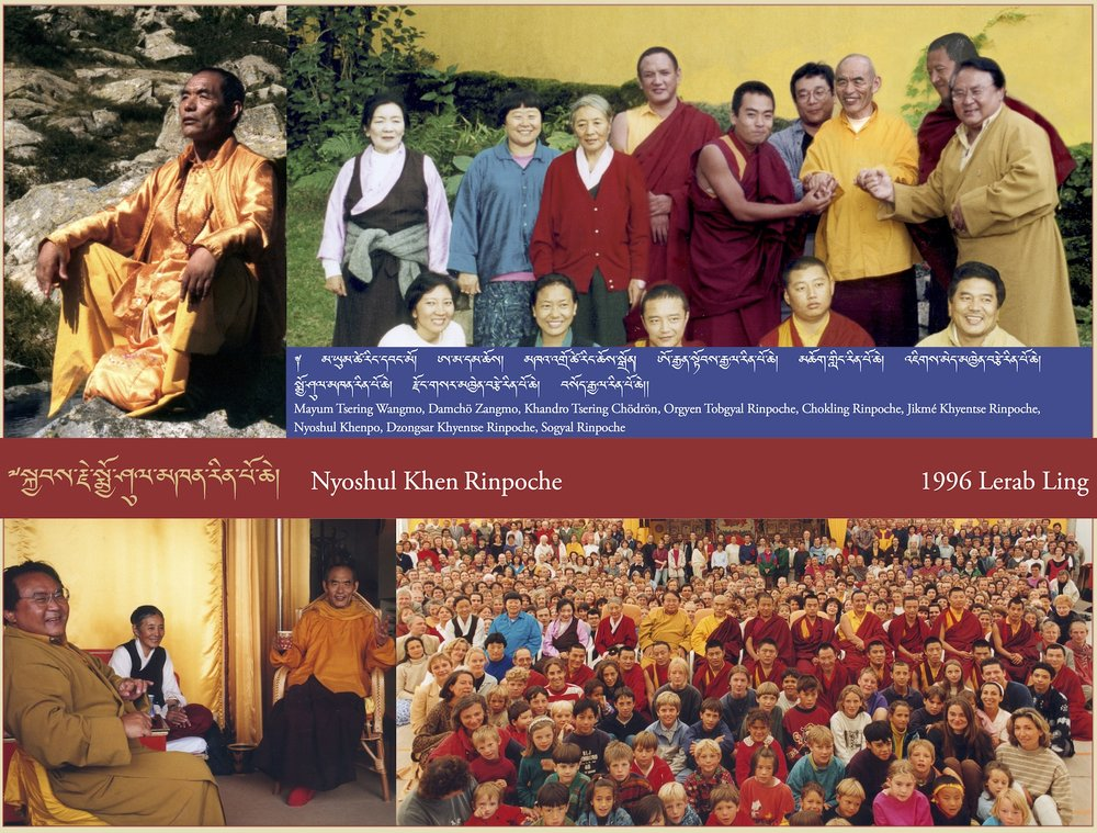 Nyoshul Khen Rinpoche, 1996 Lerab Ling