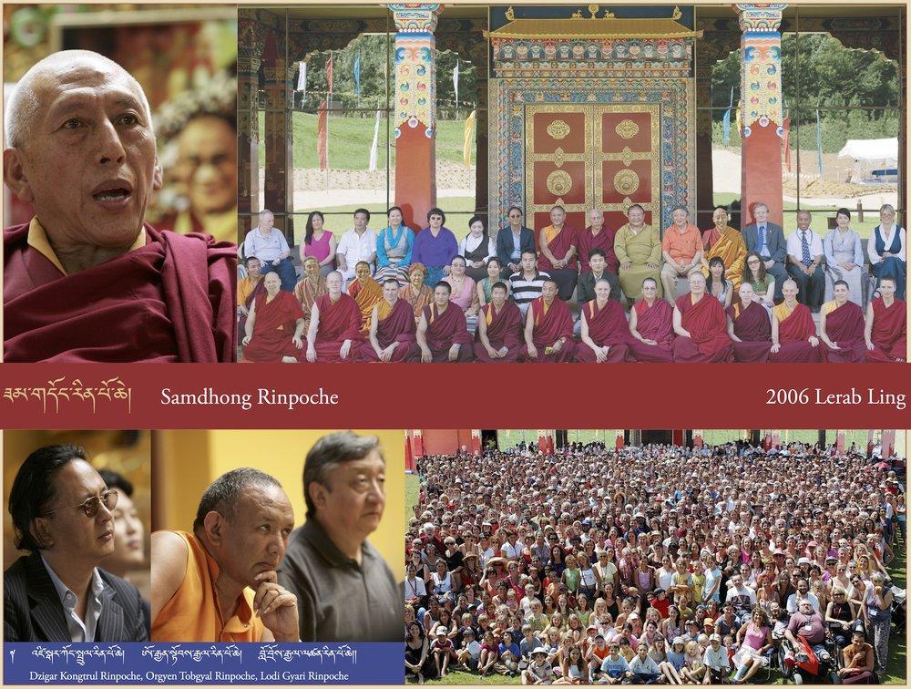 Samdhong Rinpoche, 2006 Lerab Ling