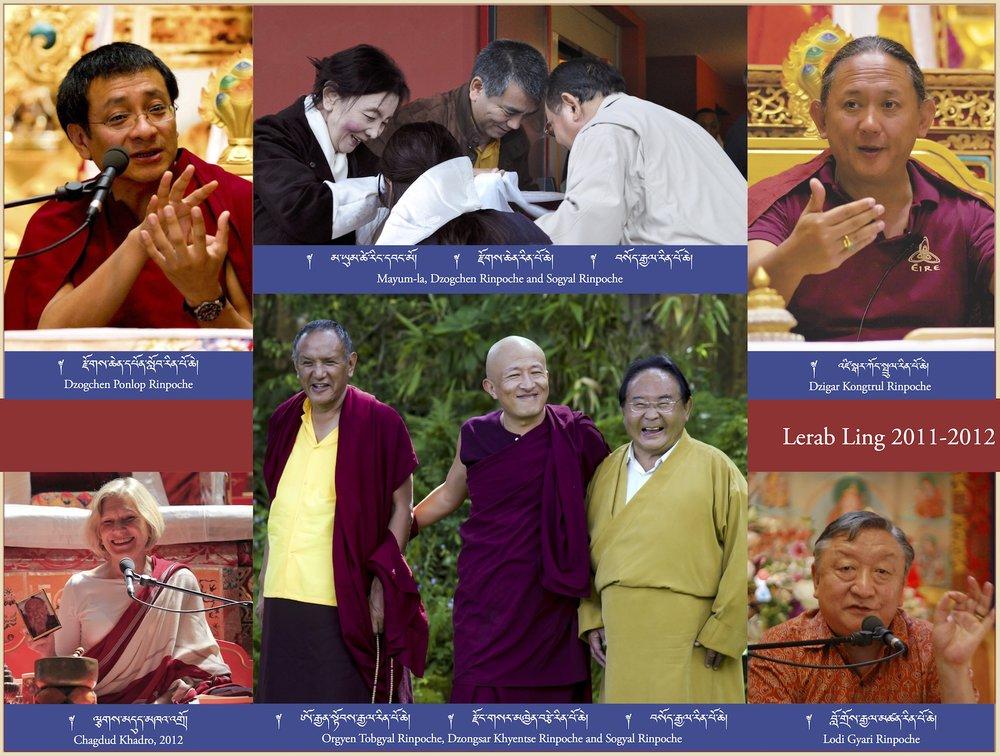 Lerab Ling 2011-2012