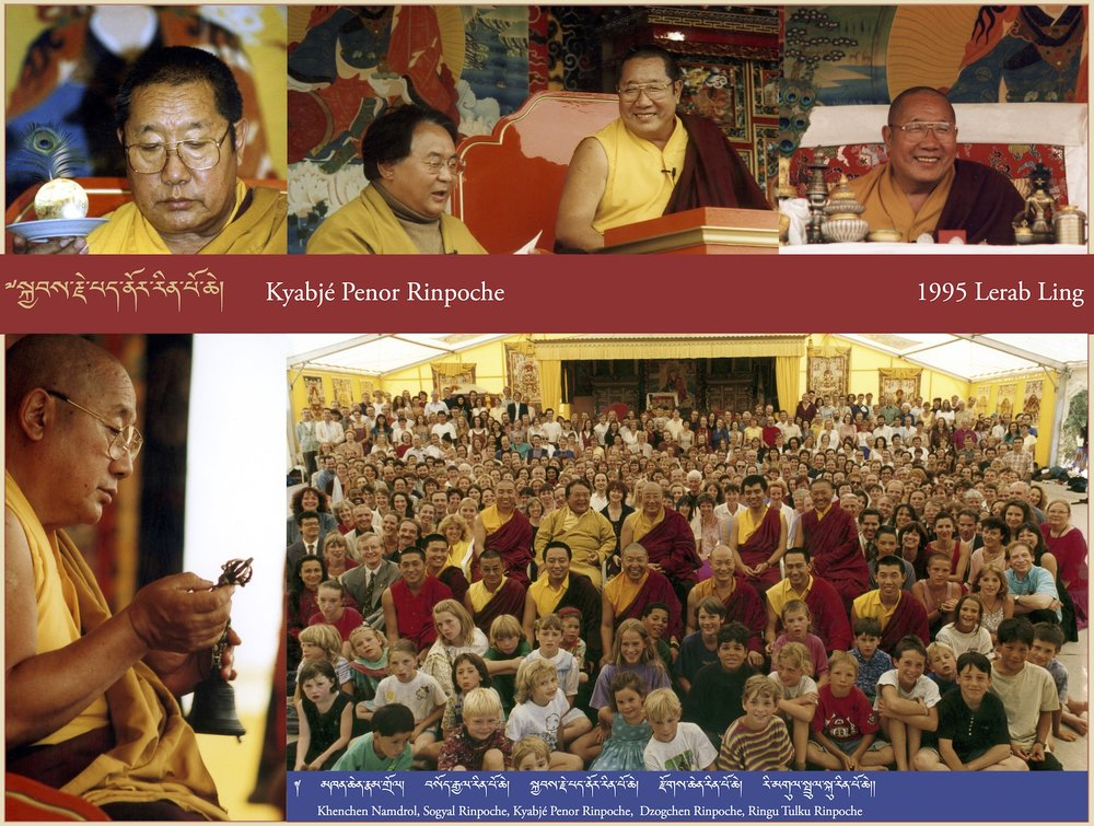 Kyabjé Penor Rinpoche, 1995 Lerab Ling
