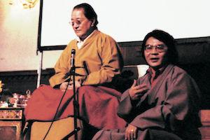 Dudjom Rinpoche & Sogyal Rinpoche