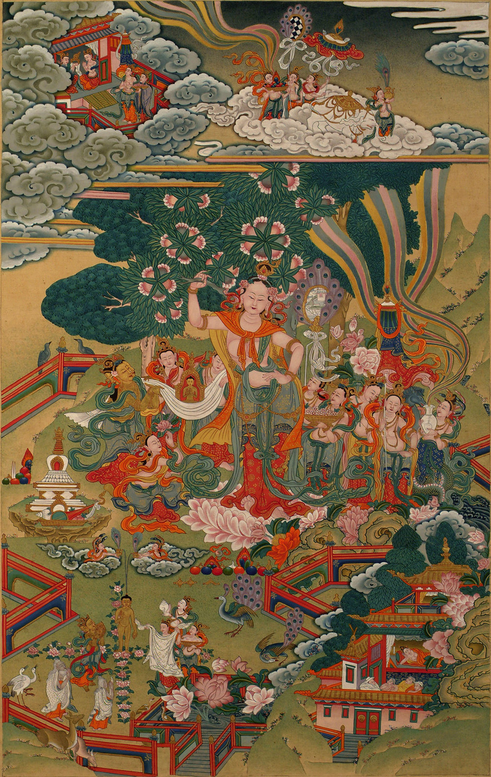 The Birth of Buddha