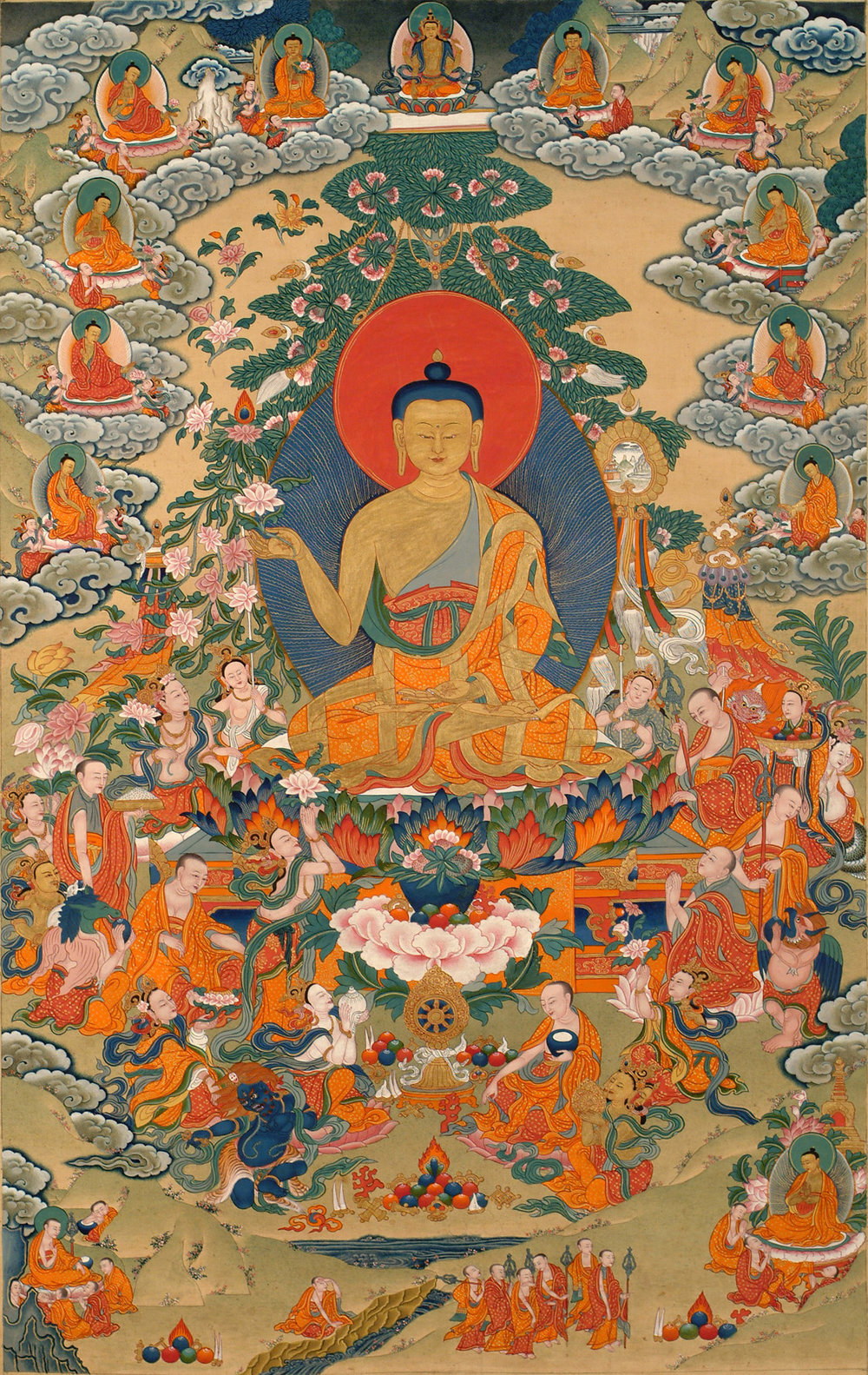The Three Turnings of the Wheel of Dharma