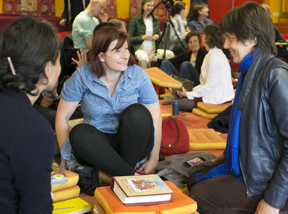 Rigpa courses (Photo: KhrisKa Photos)