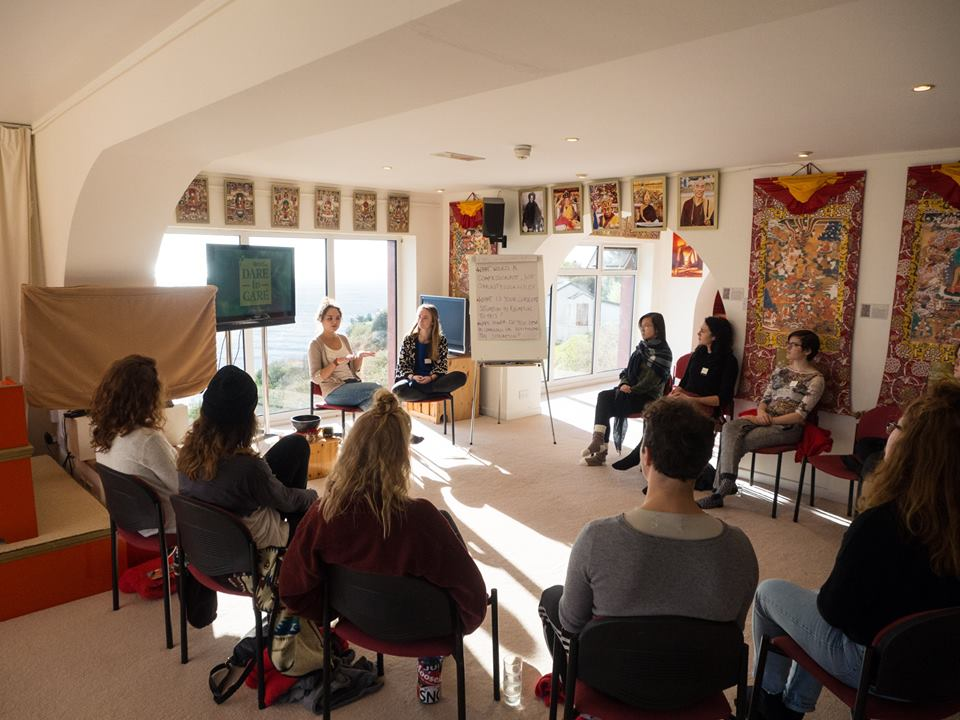 Rigpa course, Dzogchen Beara, Ireland