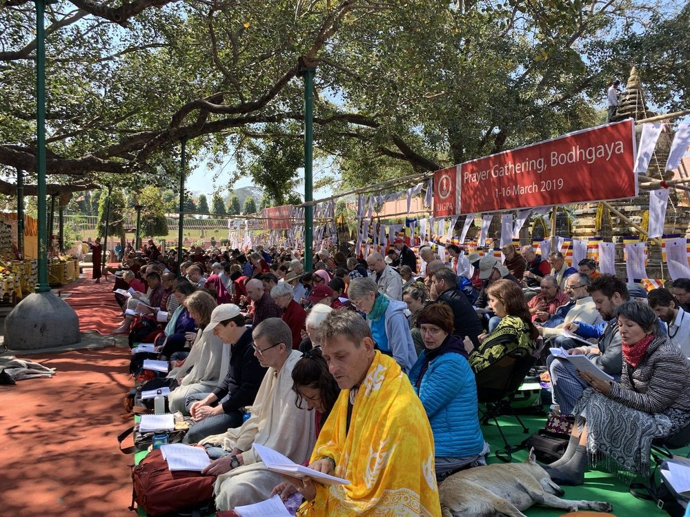 Bodhgayaa Rigpa sangha gathered day 1.jpg