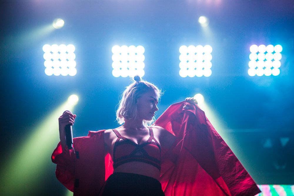Nicole Millar on the Speeding Tour 2017 (By Adam Abela)
