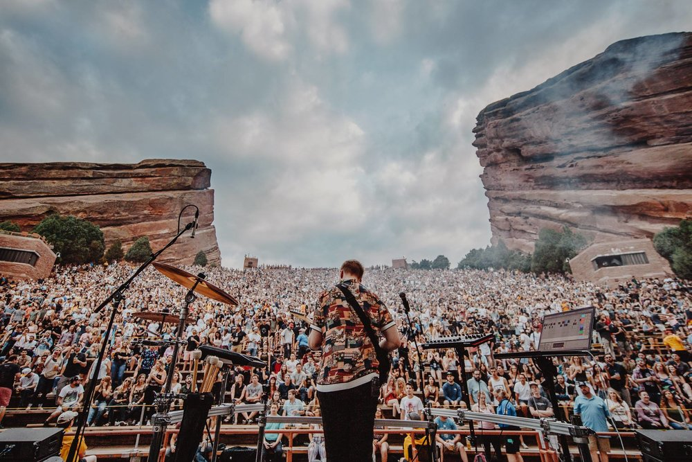 """Kasbo Live At Red Rock"" Photo By Julian Bajsel"