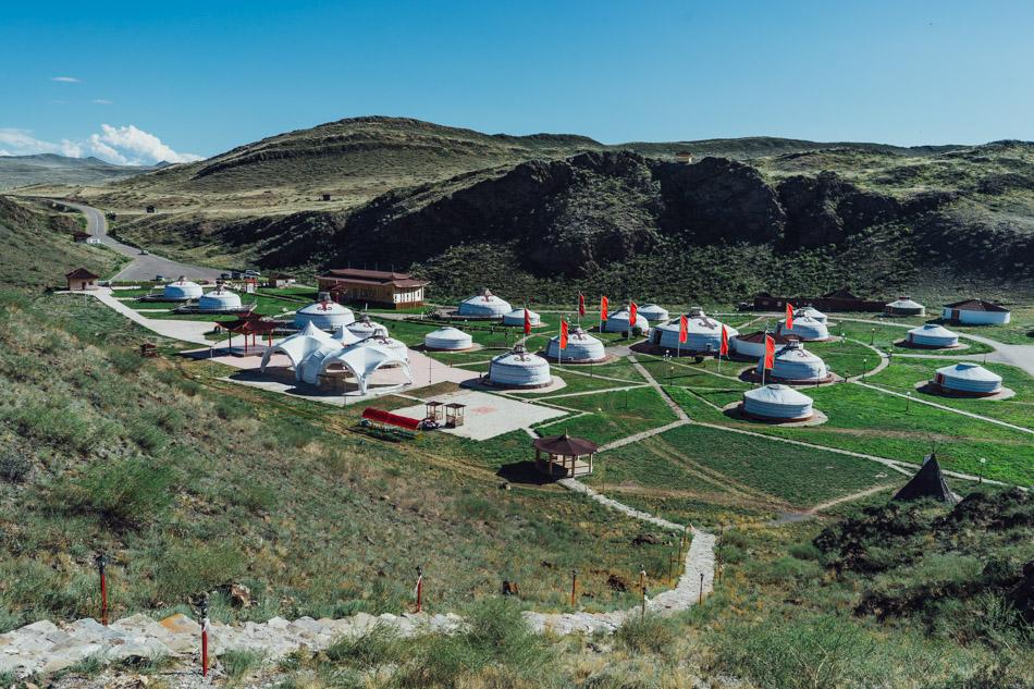 Ethno-cultural complex in Aldyn Bulak