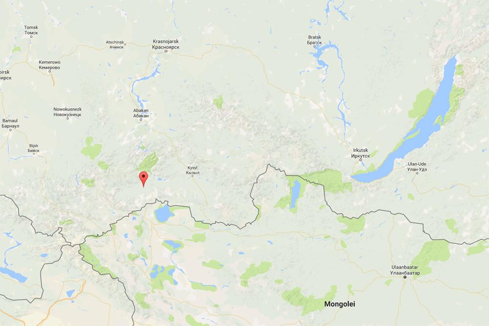 Chadan, Republic of Tuva (google maps)