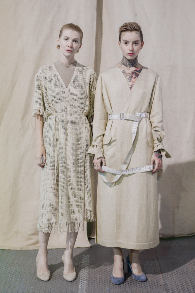 Ukrainian Fashion Week - designer DOMANOF