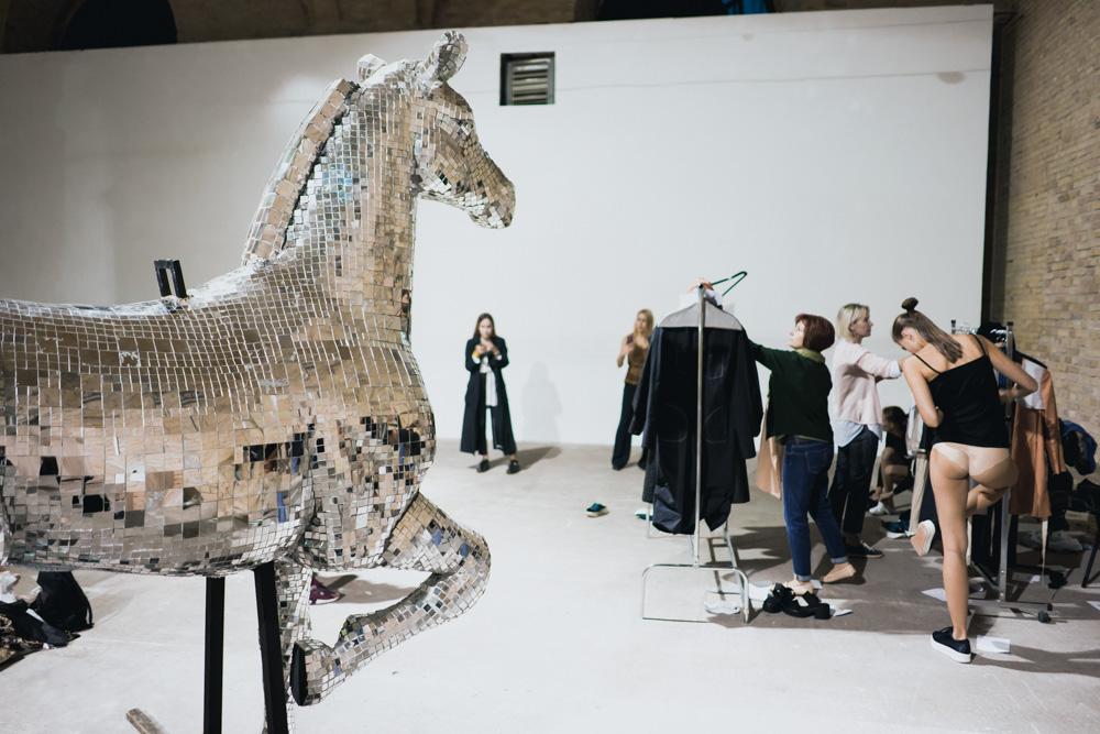 Ukrainian Fashion Week -PRZHONSKAYA Backstage
