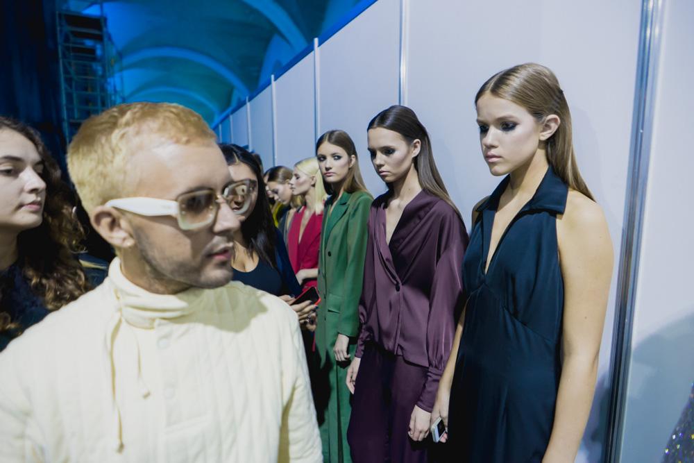 Ukrainian Fashion Week - stylist Riccardo Terzo