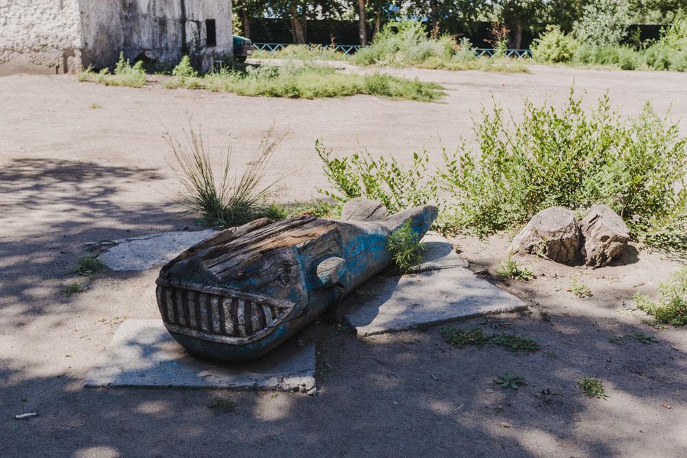 A children playground in Kyzyl