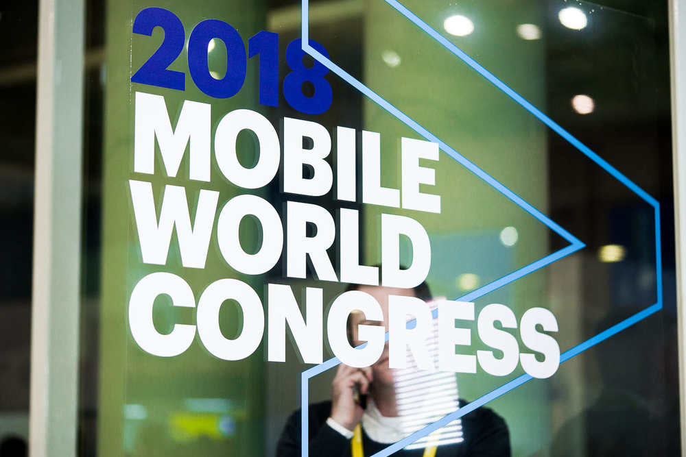 Mobile World Congress 2018 in Barcelona