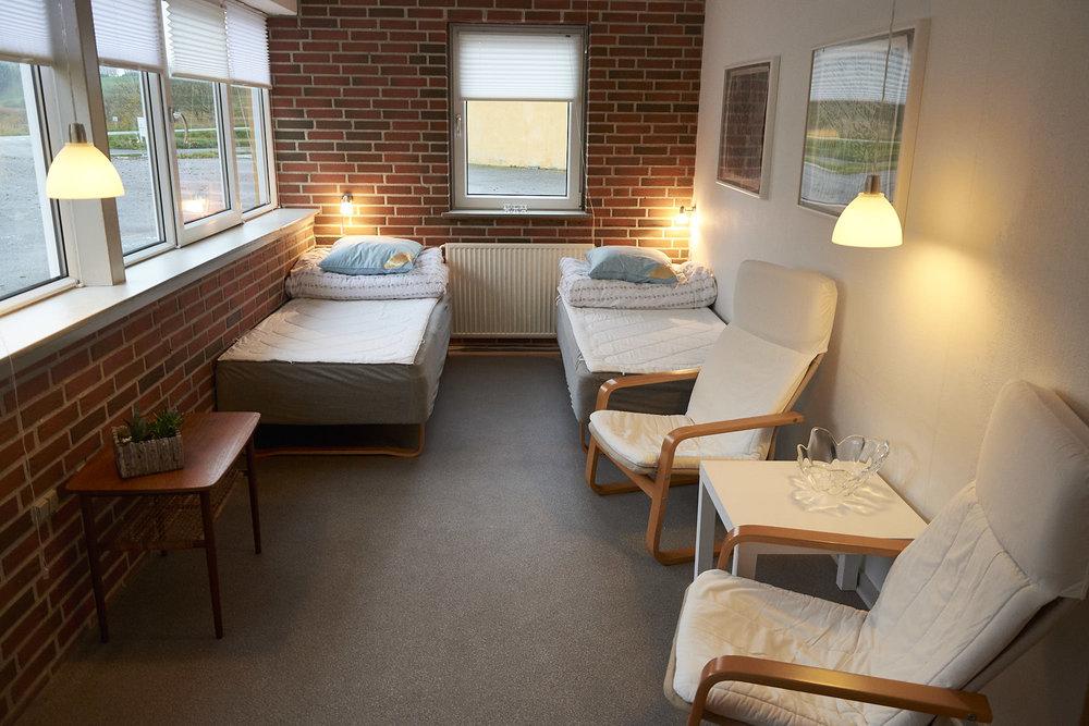 Værelse 1: To separate senge