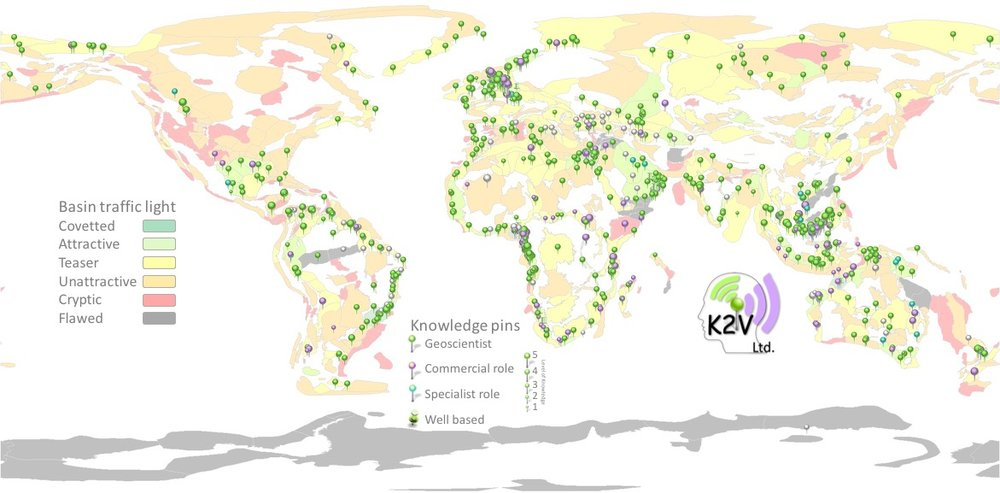 - Basin kracqing marks the defining moment of 2017 for K2V Ltd. The KRACQS™ metadatabase facilitates continuous opportunity ranking by drawing on harvested knowledge and distilling that in to a relative value, kept evergreen as new information becomes available and perceptions change. The metrics match the business objectives, whilst truly unlocking knowledge from your entire global organisation.