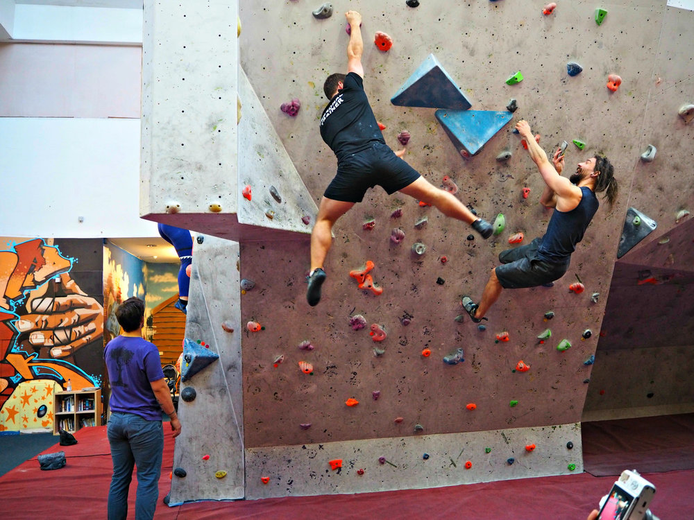 """""""a class that really does humble you and take you back to the basics of human and animal movement""""    Amy Elizabeth is an award winning Holistic Healthy Lifestyle Blogger. Read her blog where she talks about over coming her fear of heights at the event   Rock Over Climbing Centre  and Fera collaborated on for Bloggers.  Click on the image for her blog.    16 Feb 2016"""