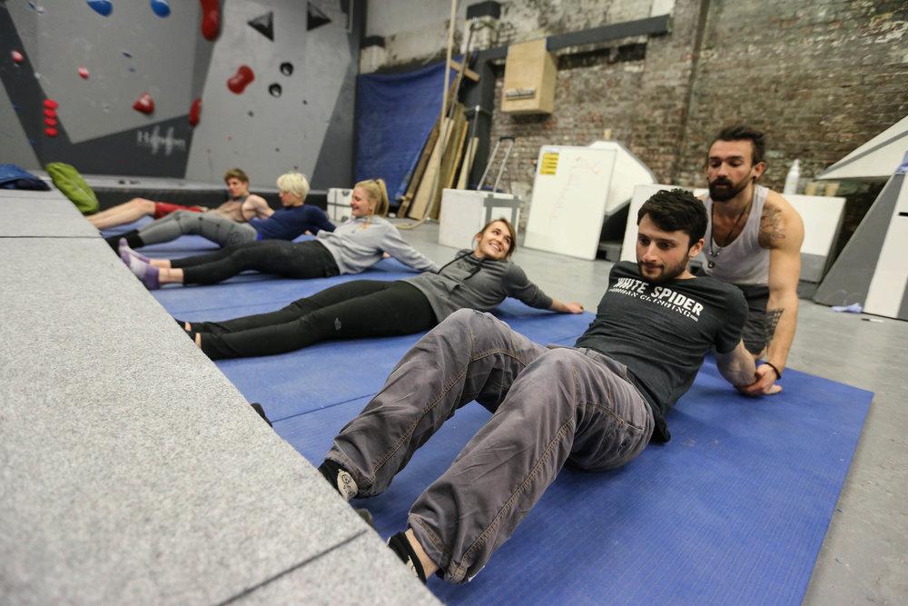 Team GB Training - Orrin Coley, Michaela Tracy, Jen Wood, Tara Hayes, Nathan Phillips  Photo Credit:    Sam Pratt