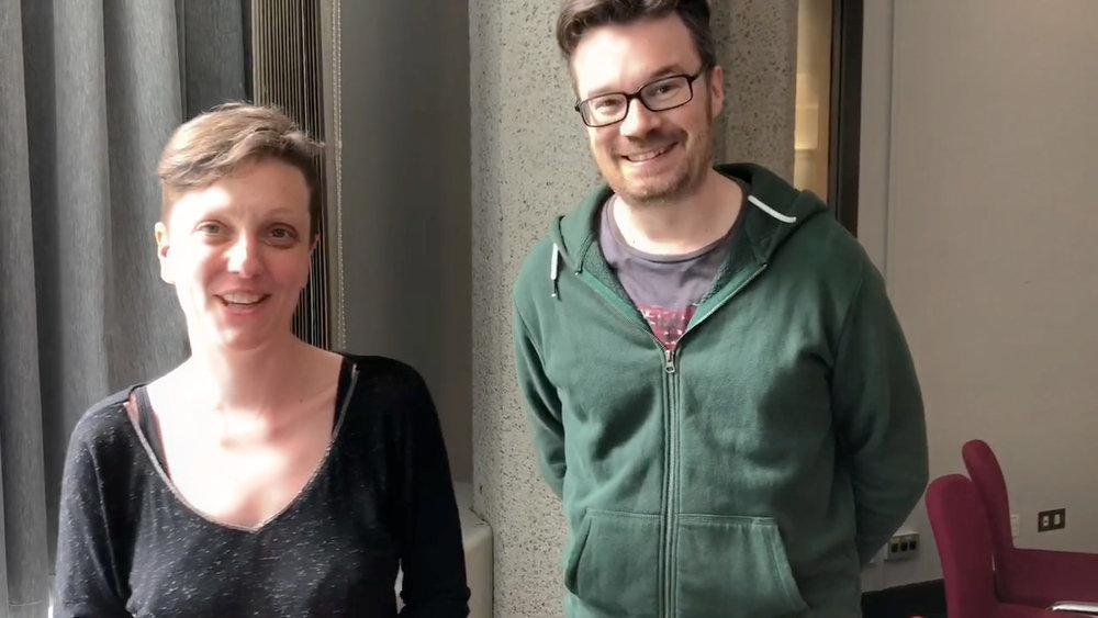 Augusta and Mathieu Lozinguez, aka Lozange Lab