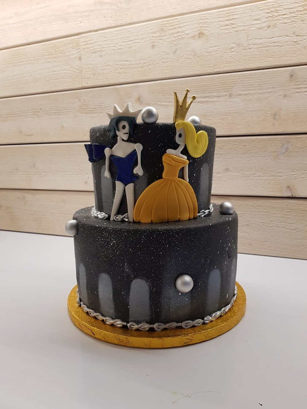 And what sorcery is this? A cake inspired by Dokuro!