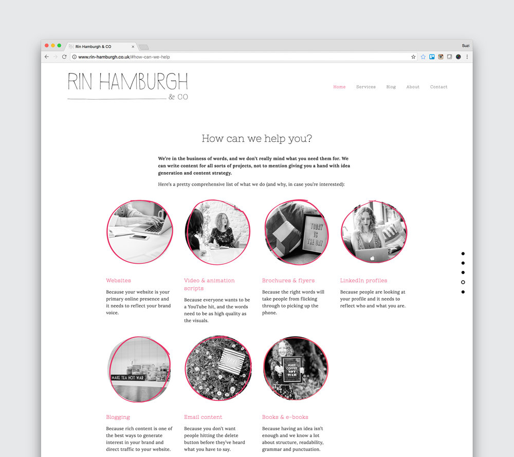 Website - www.rin-hamburgh.co.uk