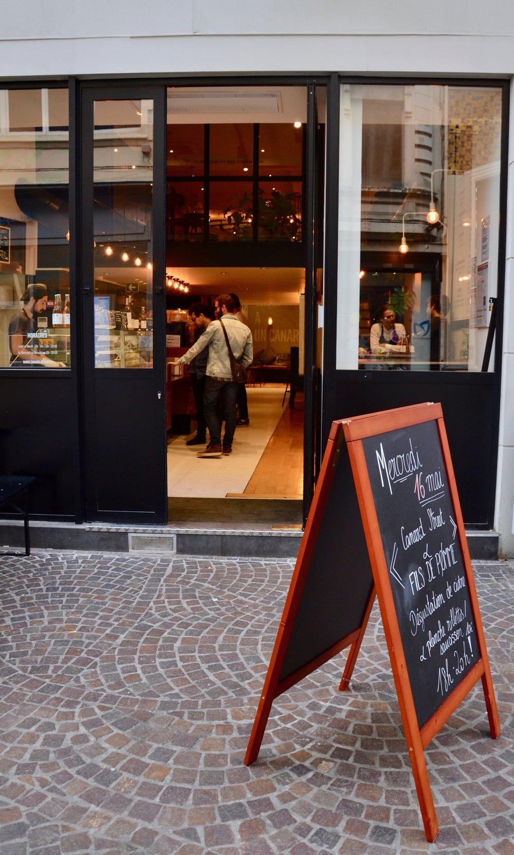 canard street Lille meilleur restaurant