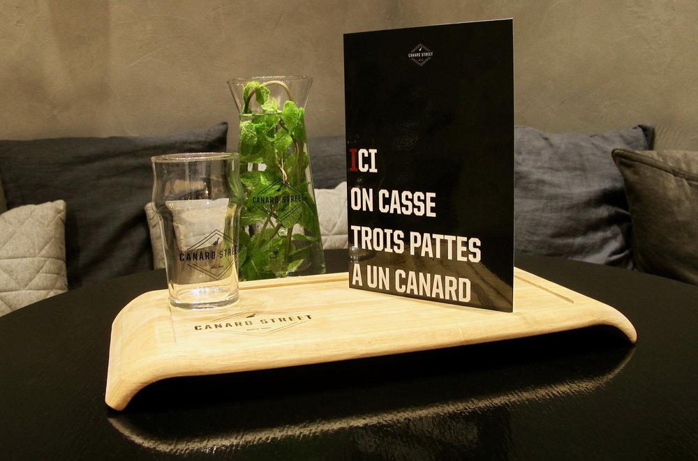 canard street meilleur restaurant Lille
