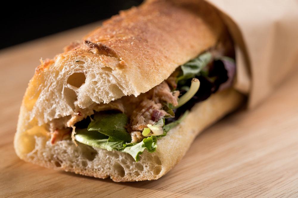 Sandwich aux rillettes Canard Street