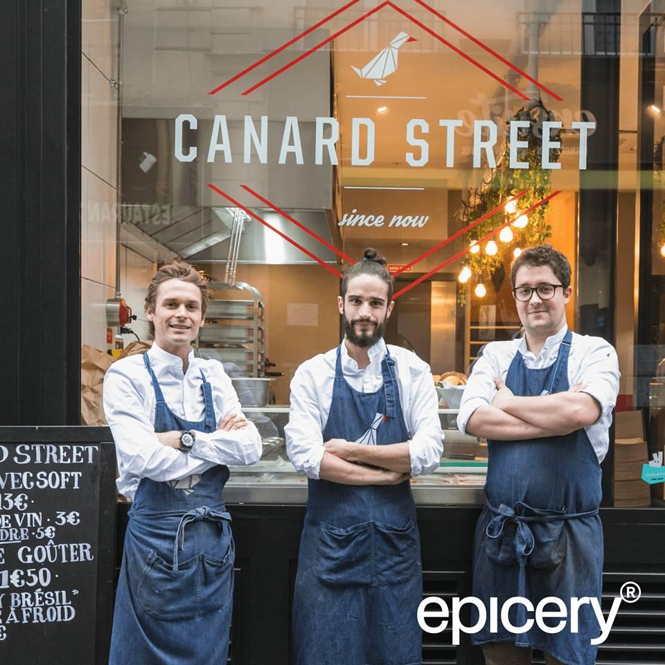 epicery paris canard street epicerie fine foie gras noel restaurant
