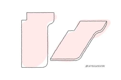 Неправильная форма столешницы помогла задействовать неиспользуемое пространство на кухне