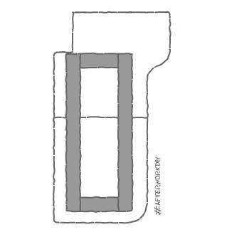 Крепление столешницы из двух кусков мебельного щита
