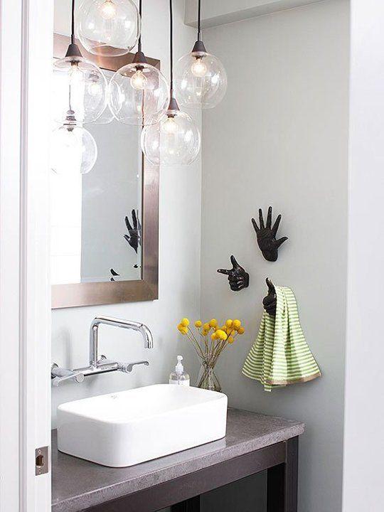 подвесные светильники для ванной источник