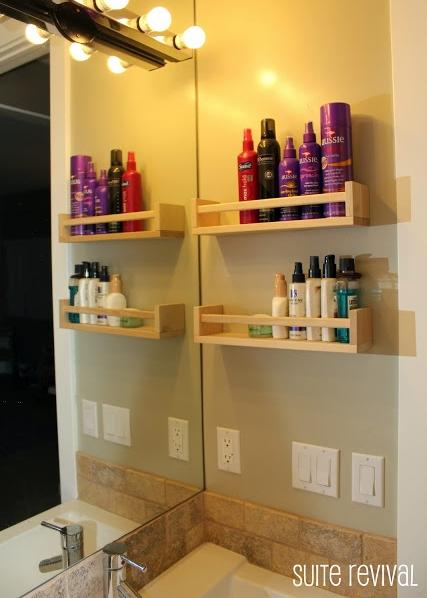 полочки для специй Икеа для хранения в ванной  источник