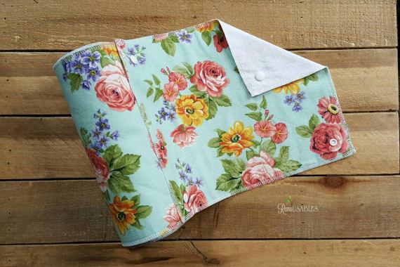 многоразовые бумажные полотенца, небумажные кухонные полотенца  источник