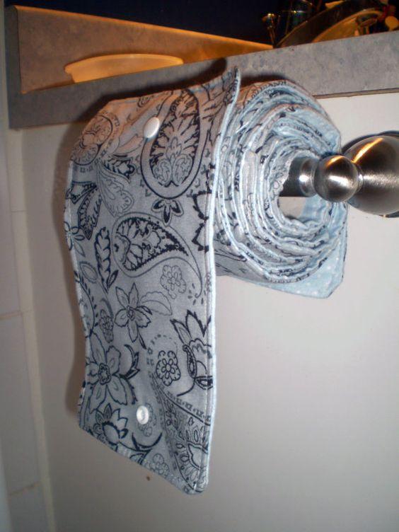 многоразовая туалетная бумага из ткани  источник